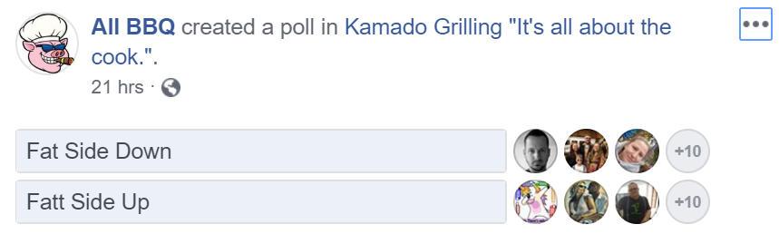 Kamado Group Poll