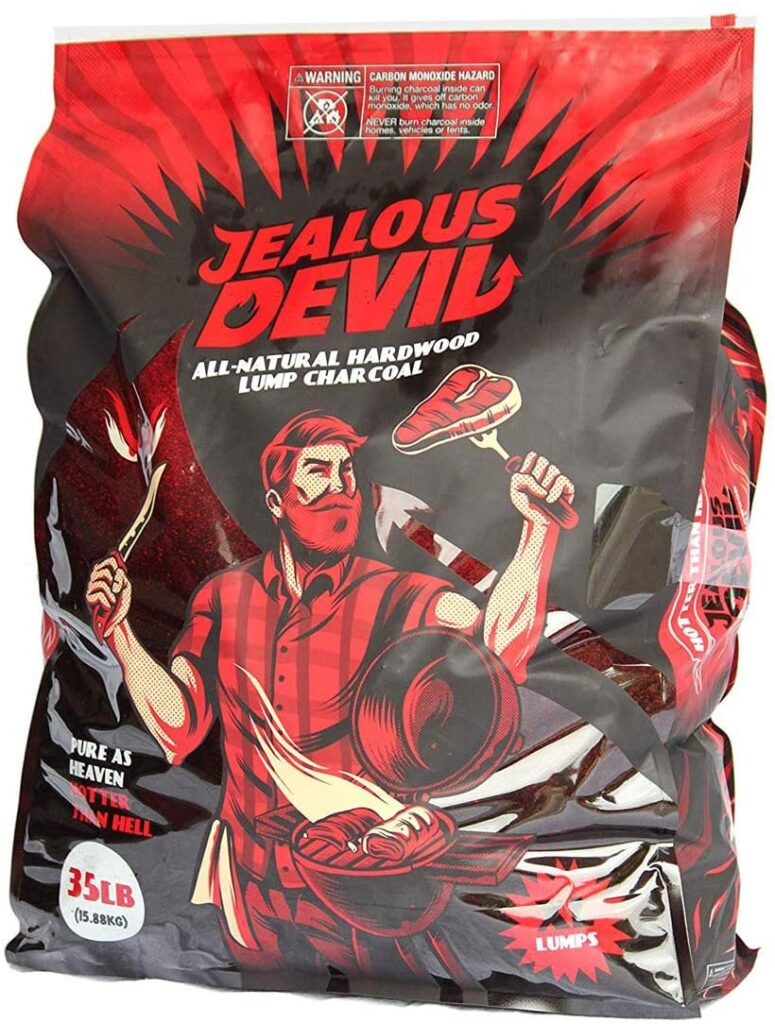 jealous devil lump charcoal